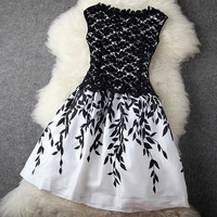 2015 sleeveless women Embroidery lace dress cheap plus size women dresses new fashion runway dress = 1946753860