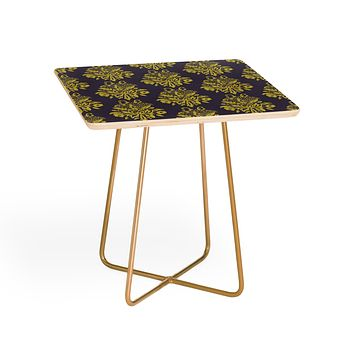 Morgan Kendall green lace Side Table