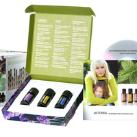 doTerra Essential Oils Introductory Kit with CD