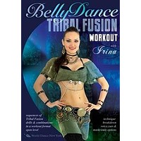"""""""The Tribal Fusion Belly Dance Workout"""" DVD with Irina Akulenko"""