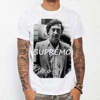 Pablo Escobar Supremo Men Woman T-Shirt Shirt Top Tee