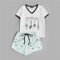 Plants Pj Set