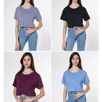 Short Sleeve Cropped T-Shirt