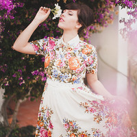 Boho wedding dress Casual wedding dress Alternative wedding dress Wedding dress plus size Wedding dress 50s inspired by Mrs Pomeranz