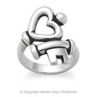 Key to My Heart Ring from James Avery