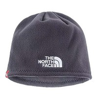 The North Face New fashion letter print  couple knitting cap hat  Gray