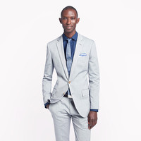 J.Crew Mens Ludlow Suit Jacket With Double Vent In Italian Oxford Cloth