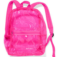 Clear Backpack - PINK - Victoria's Secret