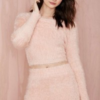 Lovers and Friends Dolly Fuzz Sweater