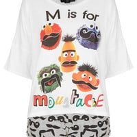 Sesame Street Moustache PJ Set - New In This Week - New In - Topshop