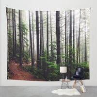Wall Tapestry, Tree Tapestry, Wall Hanging,Trees Forest Woods Wilderness, Nature Wall Art, Large Photo Wall Art, Modern Tapestry, Home Decor