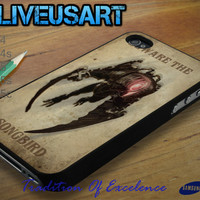 Bioshock_Be Ware The Song Bird Case for iphone 4/4s, iphone 5/5s/5c, Samsung Galaxy S3/S4