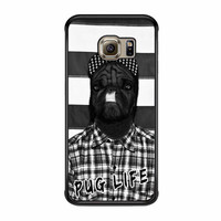 Funny Pug Life 2 Samsung Galaxy S6 Edge Plus Case