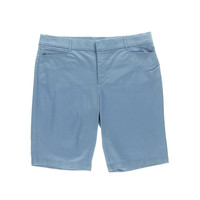 JM Collection Womens Twill Slimming Casual Shorts