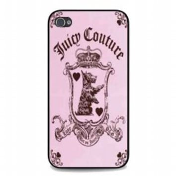 Juicy Couture Logo for iphone 4 and 4s case