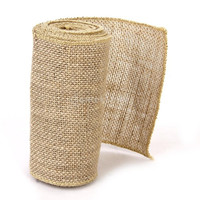 Hessian Burlap Craft Ribbon Vintage Wedding Home Decor DIY 3M x 15cm = 1932065540