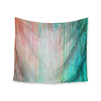 "Iris Lehnhardt ""Color Wash Teal"" Blue Turquoise Wall Tapestry"