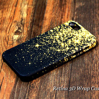 Gold Glitter iPhone 6s Plus 6 5S 5C 5 4 Protective Case #147