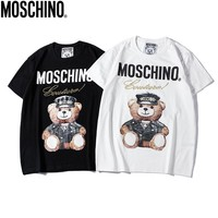 "Moschino ""Fashion Bear"" Fashion Women T Shirt"