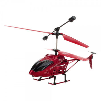 FT 735-85 3.5 Channel Infrared Remote Control RC Helicopter Red