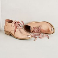 Eros Lace-Ups by Esska Gold 36 Euro Wedges