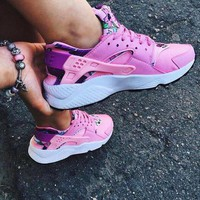 Nike Air Huarache 1 Fashion New Women Hurache Running Sport Casual Shoes Sneakers