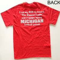 Ohio State Buckeyes Red Shirt - Biggest Loser Michigan