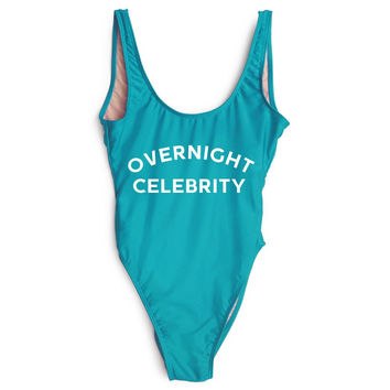 Overnight Celebrity One Piece Swimsuit