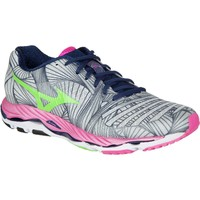 Mizuno Wave Paradox Running Shoe - Women's Micro Chip/Green Flash/Electric,