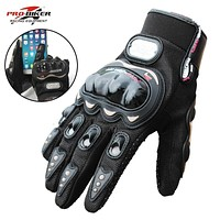 Riding Tribe Touch Screen Gloves Motorcycle Gloves Winter&Summer Motos Luvas Guantes Motocross Protective Gear Racing Gloves