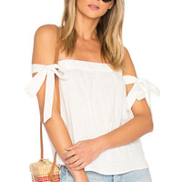 by the way. Ora Off Shoulder Top in White | REVOLVE