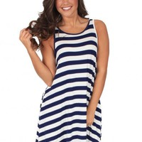 Starlight Dress in Navy | Monday Dress Boutique