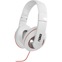NAXA Headphones (White) NE929 WH NE-929 WH