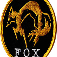 Metal Gear Solid Iron Patches - XOF, Diamond Dogs, Outer Heaven, FOX, MSF, Foxhound  As Seen in Metal Gear Solid V The Phantom Pain Big Boss