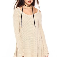 Second Thoughts Tunic - Stone
