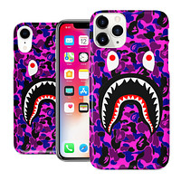 Purple Shark Mouth Case for Apple iPhone Case