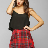 Motel Able Plaid Pleated Skirt - Urban Outfitters