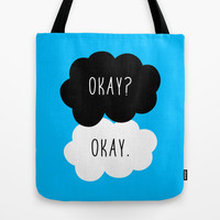 Okay? Okay. The Fault in Our Stars Tote Bag by Janice Wong | Society6