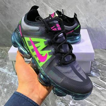 NIKE AIR VAPORMAX Fashion New Hook Print Women Men Running Shoes