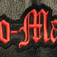 """Cro-Mags - Logo 4.5x1.5"""" Embroidered Patch"""