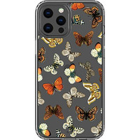 Warm Butterfly Clear Phone Case