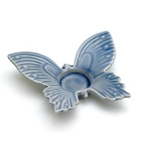 Blue Butterfly Tealight Candle Holder