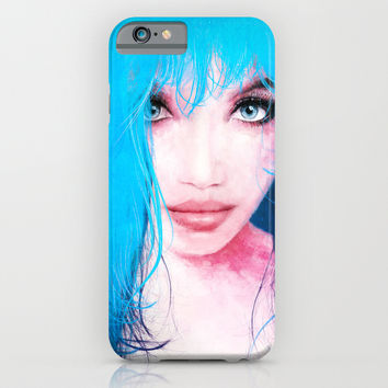 MonGhost XI - TheBlueDream iPhone & iPod Case by LilaVert