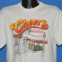 90s Cheers Bar Boston Tourist t-shirt Large