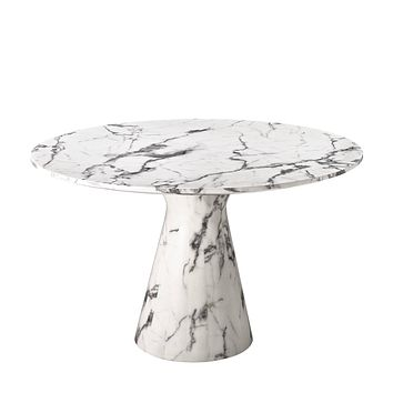 White Marble Dining Table | Eichholtz Turner
