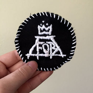 Fall Out Boy Logo Patch
