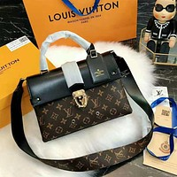 Louis Vuitton High Quality Trending Women Stylish LV Monogram Leather Handbag Shoulder Bag Crossbody Satchel