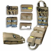 Medical Pack Insert - Fully Stocked COYOTE TAN by Rescue Essentials