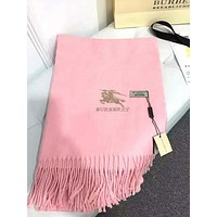 Perfect Burberry Women Fashion Winter Accessories Sunscreen Cape Scarves Scarf
