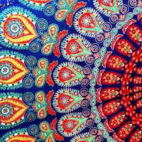 Mandala Tapestry,Hippie Wall Hanging,Hippie Tapestry,Bohemian Tapestry,Indian Boho Cotton Bedspread Bed Sheet